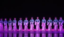 """Oude meisje-dans drama""""Mei Lanfang† Stock Afbeelding"""