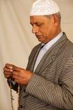 Oude mens moslim Royalty-vrije Stock Fotografie