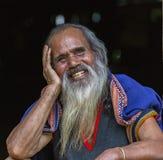 oude mens Taynguyen Royalty-vrije Stock Fotografie