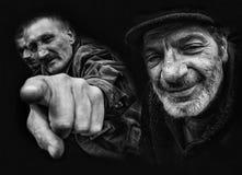 Oude mensen Royalty-vrije Stock Foto