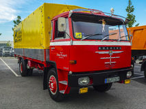 Oude MENSENvrachtwagen Royalty-vrije Stock Foto