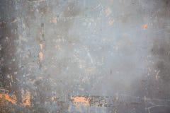 Oude metaal gekraste achtergrond Royalty-vrije Stock Afbeeldingen