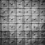 Oude metaalmuur Stock Fotografie