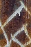 Oude metaaltextuur als achtergrond royalty-vrije stock afbeelding