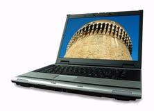 Oude methode die nieuwe technologie beschermt Royalty-vrije Stock Fotografie