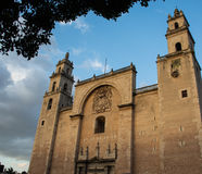Oude Mexicaanse Kerk Royalty-vrije Stock Foto