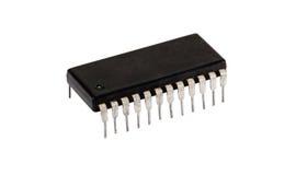 Oude Microchip royalty-vrije stock afbeeldingen