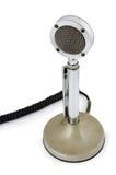 Oude microfoon Stock Foto's