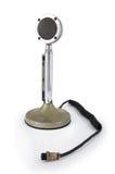 Oude microfoon Royalty-vrije Stock Foto's