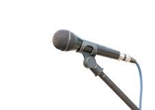 Oude microfoon Royalty-vrije Stock Afbeeldingen