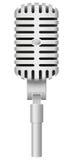 Oude microfoon vectorillustratie Royalty-vrije Stock Foto's