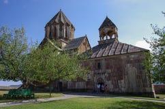 Oude middeleeuwse Armeense kerk van Gandzasar-klooster, nagorno-Ka Stock Fotografie