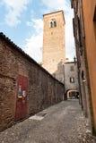 Oude middeleeuwse stad Royalty-vrije Stock Foto's