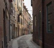 Oude middeleeuwse stad Royalty-vrije Stock Foto