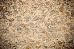 Oude middeleeuwse steenmuur in majorca Royalty-vrije Stock Fotografie