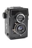Oude midden-formaatcamera stock fotografie