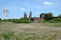 Oude mijn in Bytom Polen Stock Afbeelding