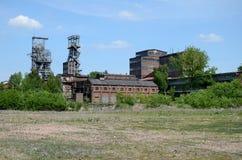 Oude mijn in Bytom Polen Stock Foto's