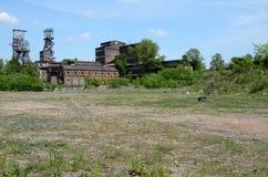 Oude mijn in Bytom Polen Stock Foto
