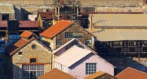 Oude mijnbouwfabriek Stock Afbeelding
