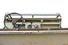 Oude militaire 4x4 auto Royalty-vrije Stock Afbeeldingen