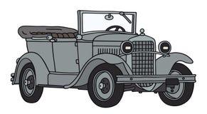 Oude militaire auto Royalty-vrije Stock Foto's