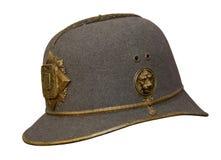 Oude militaire helm Royalty-vrije Stock Afbeeldingen