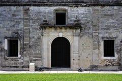 Oude Militaire Kapel Stock Afbeeldingen