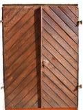 Oude Militaire verzegelde deur bij de vesting in Servië Stock Afbeelding