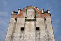 Oude militaire watchtower in Zuidelijk China Stock Fotografie
