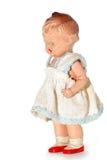 Oude misbruikte kindpop #4 Stock Afbeelding