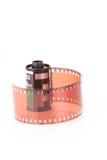 Oude 35 mm verbieden filmstrook Stock Afbeelding