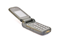 Oude Mobiele Telefoon royalty-vrije stock afbeelding