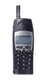 Oude mobiele telefoon Royalty-vrije Stock Afbeeldingen