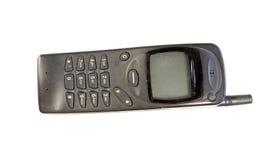 Oude mobiele telefoon Royalty-vrije Stock Foto's