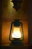 Oude model elektrische lamp Stock Afbeeldingen