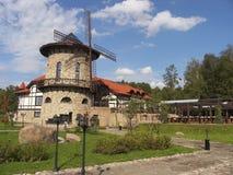 Oude molen 3 royalty-vrije stock afbeeldingen