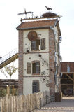Oude molen Royalty-vrije Stock Foto