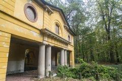 Oude molen in het Monza-Park Stock Afbeelding