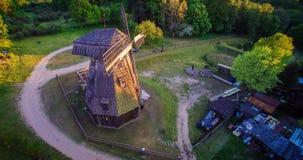 Oude molen, Litouwen Stock Fotografie