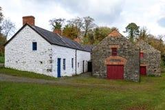 Oude Molen in Noord-Ierland stock afbeeldingen