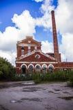 Oude molen in Samara Royalty-vrije Stock Foto's