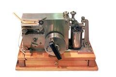 Oude Morse-telegraaf royalty-vrije stock fotografie
