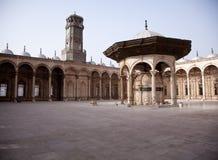 Oude moskee in de Citadel in Kaïro Royalty-vrije Stock Foto