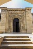 Oude moskee in het fort in Baku azerbaijan royalty-vrije stock foto