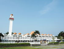 Oude moskee (Islamkerk) in Maleisië Royalty-vrije Stock Fotografie