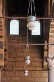 Oude moskee in Kaïro stock foto