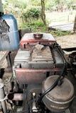 Oude motor stock afbeelding