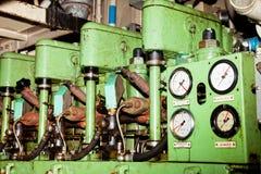 Oude Motor stock foto