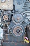 Oude Motor Royalty-vrije Stock Afbeelding